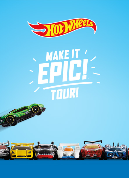 Hot Wheels Make It Epic Tour